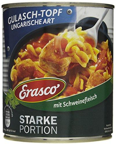 Erasco Gulasch-Topf Ungarische Art, 3er Pack (3 x 800 g Dose)