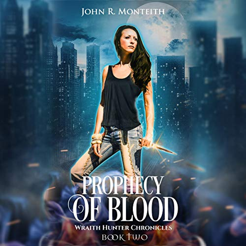 Prophecy of Blood: A Supernatural Psychic Thriller audiobook cover art