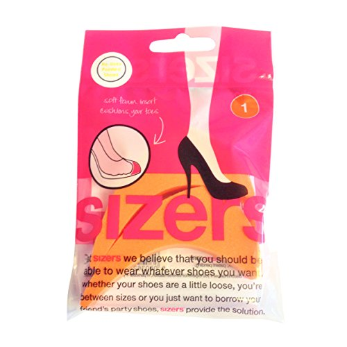 Sizers - (New & Improved) Shoe Sizing Inserts (Re-Sizes All Pointed-Toe Footwear) (Orange (1 Pointed Sizers))