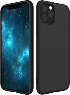 Poleet iPhone 11 Pro Max Silicone 2019 6.5'', Ultra Thin & Full Body Protective No Dust Attractive Soft Cover Liquid Rubber Cases for Apple with Lining Fiber
