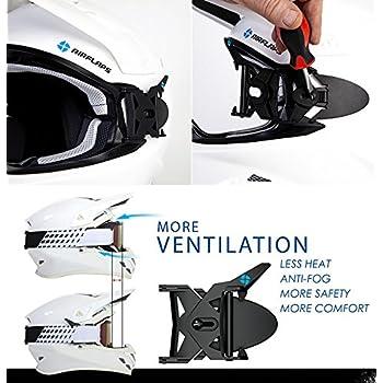 オフロードバイク・スノーモービル・マウンテンバイク用ゴーグル曇り防止アイテム エアフラップス