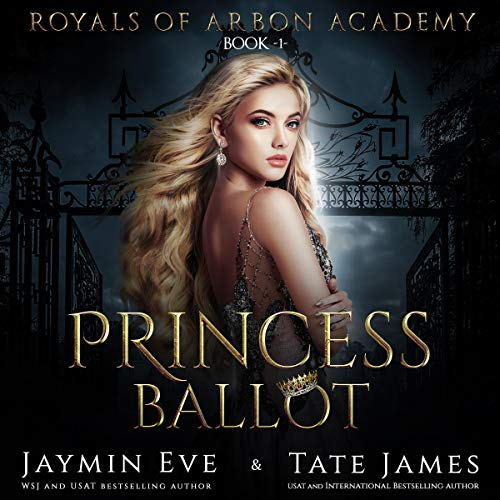 Princess Ballot audiobook cover art