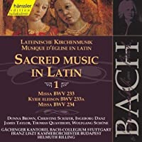 Bach;Sacred Music in Latin 1