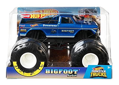 Hot Wheels Monster Trucks 1:24 Bigfoot Vehicle [Amazon Exclusive]