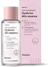 Hanskin Real Complexion Hyaluron Skin Essence - Hyaluronic Acid, Moisturizing, Glowing, Soft & Fragrance-Free. Hanskin Official. [150 ml]
