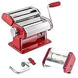bremermann Machine à pâtes pour Spaghetti, pâtes, Ravioli et lasagnes (7 Niveaux), pastamaker