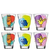Leonardo Bambini Trink-Gläser, 6er Set,