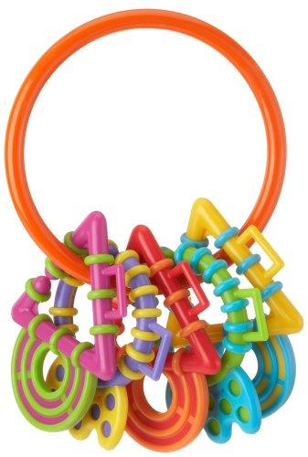 Playgro 1201670 – Mon premier anneau de dentition à hochet