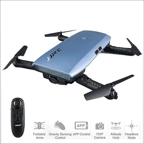 punto de venta barato ZMM Drone con cámara, cámara, cámara, WiFi FPV Quadcopter con cámara de Gran Angular de 2,4 GHz 720P Video en Vivo móvil App Control Plegable altitud Hold Modo Selfie Pocket RC helicóptero  opciones a bajo precio