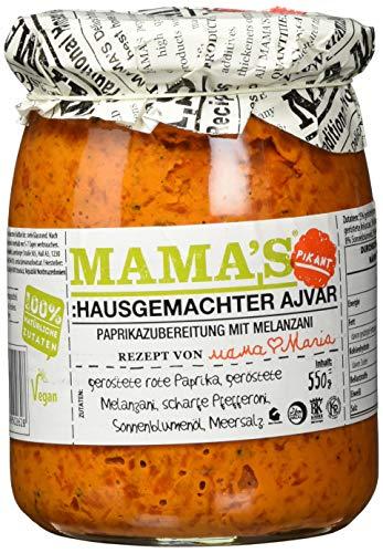 Mamas Food Home Style Ajvar scharf, 550 g