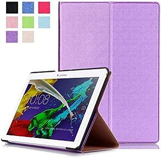 Protección Caja para Lenovo Tab 2 A10-70F 10.1 Pulgadas Smart Slim Case Book Cover Stand Flip A10-70L (Violeta) NUEVO