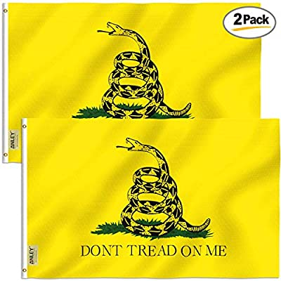 Anley Yellow Gadsden Flag