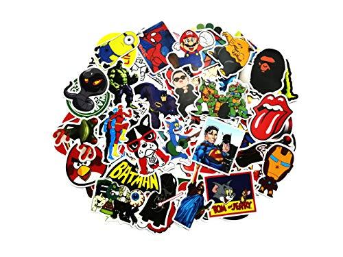 thematys Sticker Aufkleber Bumper in 10 verschiedenen Sets - perfekt zum Bekleben von Laptop, Smartphone, Monitore, Rucksäcke, Auto, Fahrrad (Style 7)