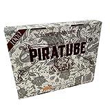 PIRATUBE - 1000 tubos para cigarrillos | Tubos con filtros | Caja rígida sin tubo aplastado