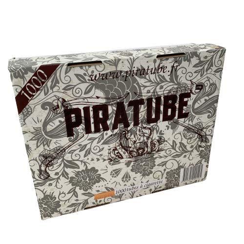 PIRATUBE - 1000 tubos para cigarrillos | Tubos con filtros |