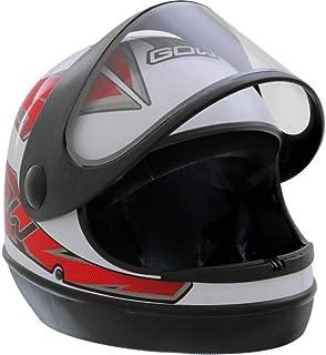 X Capacete Interlagos Branco/Vermelho Gow 58