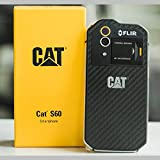 New CAT S60 FLIR Thermal Camera 3+32GB Dual SIM Waterproof Unlocked 4G LTE [並行輸入品]