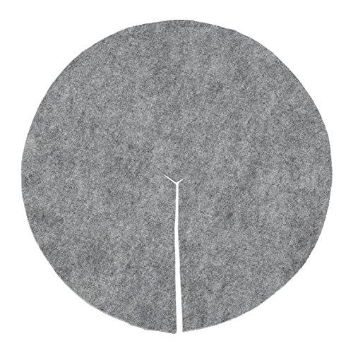 Idées B Création Disque de paillage en Feutre Rond 50cm