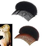 yueton Pack of 2 Women Lady Girl Hair Styling Clip Stick Bun Maker Braid Tool Hair Accessories