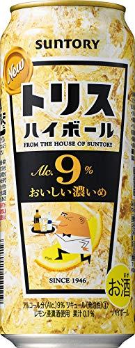 サントリー トリスハイボール缶 キリッと濃いめ 500ml×4本 [5841]