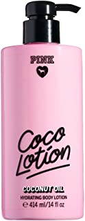 Victoria's Secret Pink Coco Lotion Coconut Oil Hydrating Body Lotion 14 Ounce (414 Milliliter)