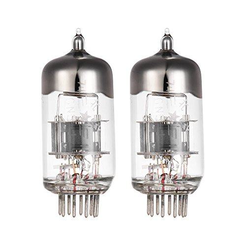 ammoon Vakuumröhren Vacuum Tube Amplifier 5670 6N3 Preamp Elektron Vacuum Tube 9-polig für 6N3P 2c51 5670 396A Audio Verstärkerrohr Ersatz 2 * Vakuumröhre