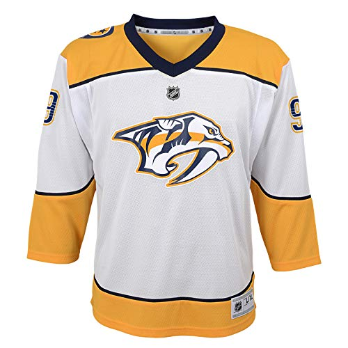 NHL by Outerstuff NHL Nashville Predators Youth Boys Filip Forsberg Replica Jersey-Away, White, Youth Large/X-Large(14-18)