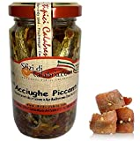 Acciughe Sotto Olio Piccanti con Peperoncino vaso da 200gr Prodotti Tipici Calabresi Sfzi di Calabria