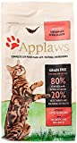 [page_title]-Applaws Katze Trockenfutter mit Hühnchen & Lachs, 1er Pack (1 x 2 kg)