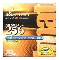 imation イメーション 3.5型 2HD フロッピーディスク 256フォーマット 10枚入 オフコン対応 MF2HD256 10PA