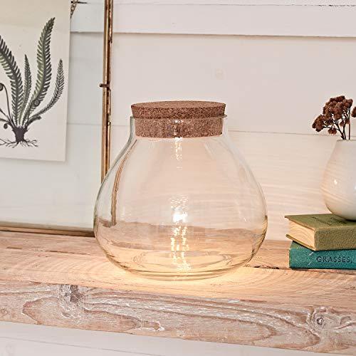 Lights4fun LED Pflanzen Terrarium batteriebetrieben Timer
