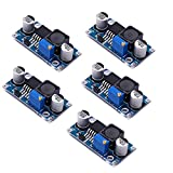 5 Pack Boost Converter Module XL6009 DC to DC 3.0-30 V to 5-35 V Output Voltage Adjustable Step-up Circuit Board (5 Pack)
