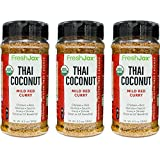 FreshJax Gourmet Thai Coconut Curry Red Mild Large 6.5 oz (3 pack)