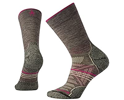 Smartwool Women's PhD Outdoor Light Crew Socks (Taupe) Medium