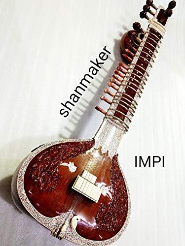 IMPI SITAR,highly professional concert quality Pt. Ravi Shankar style double sided tumba with fiber box
