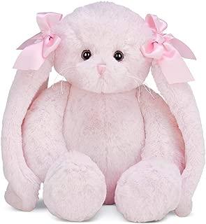 Bearington Bun Bun Pink Plush Bunny Stuffed Animal, 14 inches