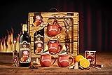 Fuego Alicates Set de regalo rojo 1L Vino Caliente 40ml Rum...