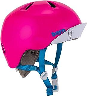 [ バーン ] ヘルメット ニナ サテンホットピンク 女の子用 S-Mサイズ VJGSPNK ニーナ キッズ BERN [並行輸入品]
