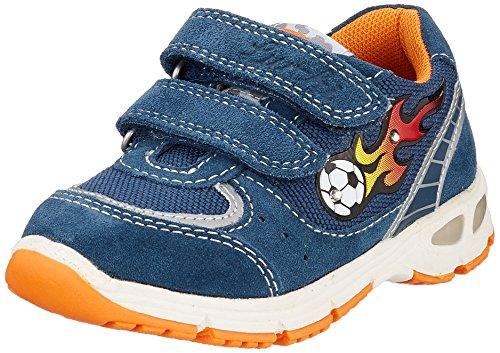 Lurchi Jungen BRAGO Sneaker, Blau (Jeans 42), 26 EU