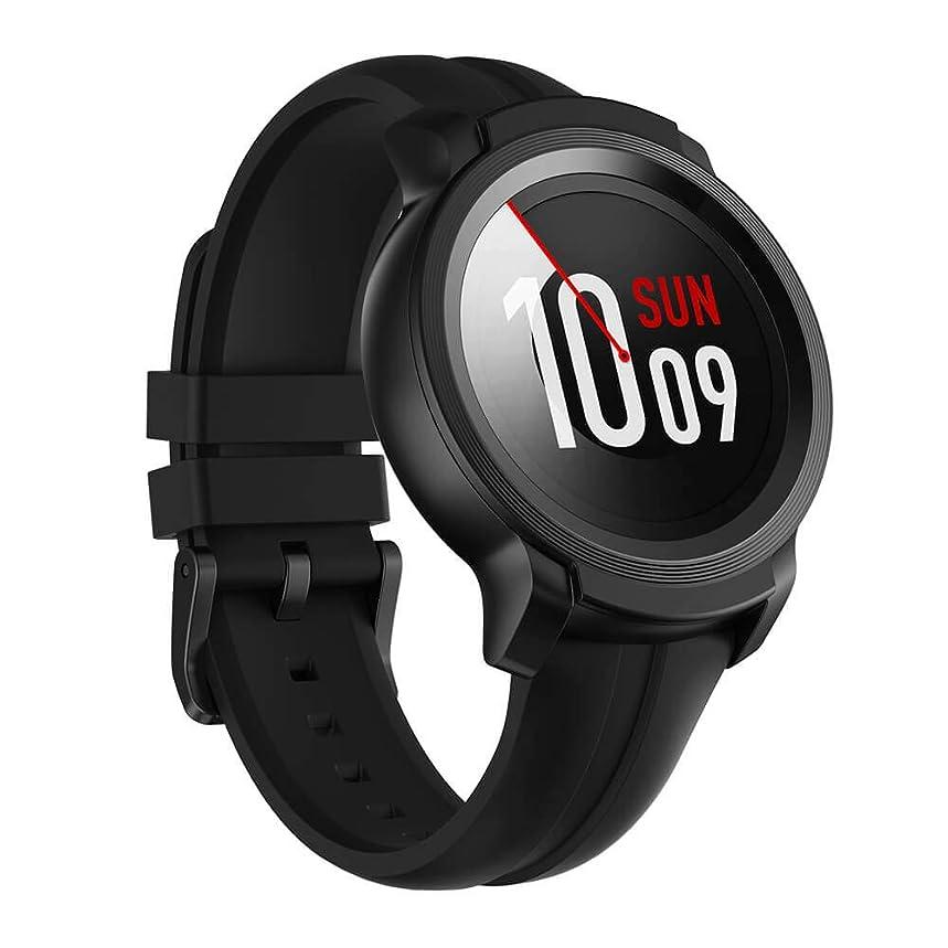 製作盆寄付【初発売】TicWatch E2 フィットネス スマートウォッチ Wear OS by Google 5 ATM防水&水泳対応 腕時計 iPhone&Android対応 ブラック