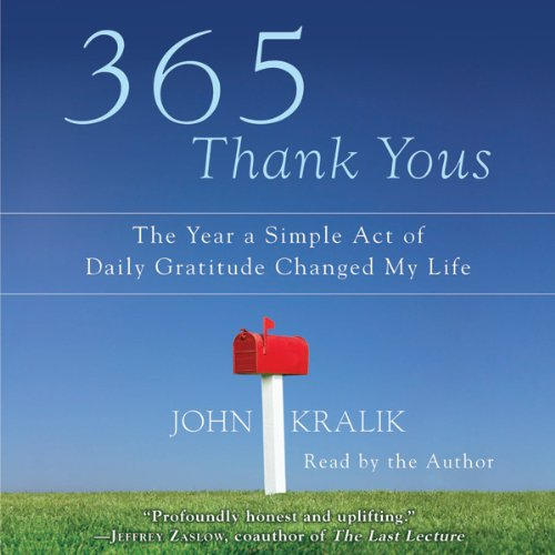 365 Thank Yous audiobook cover art