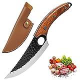 Promithi cuchillo serbio de cocina multiusos, cuchillo profesional,...