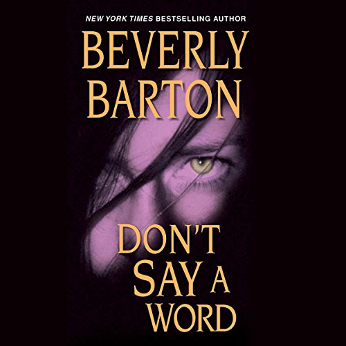 Don't Say a Word audiobook cover art
