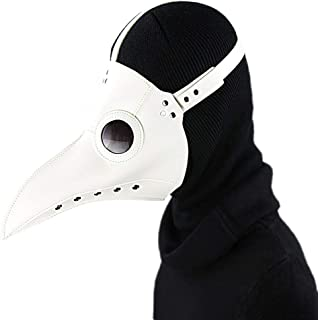 silver plague doctor mask