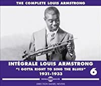 Complete Louis Armstrong VI 1931-1933 (3CD) by Armstrong (2013-09-22)