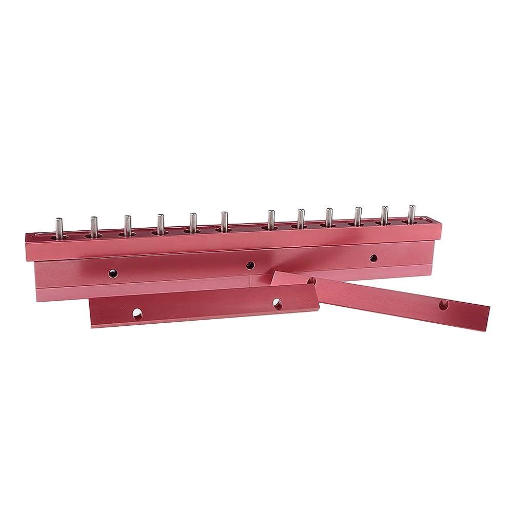 即席簡潔な器官T TOOYFUL アルミ製 口紅/リップクリーム リップクリーム型 12穴 12.1mm口紅型 全2タイプ選べ - 3way