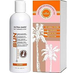 top 10 sun tanning lotion Sun Laboratories Self Tanning Lotion Ultra Dark Instant Tint, Dark, 8 oz