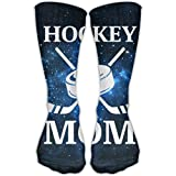 shenguang Hockey Mom Unisex Tube Calcetines Crew Over The Calf Soccer Comfort Stockings For Sport And Travel