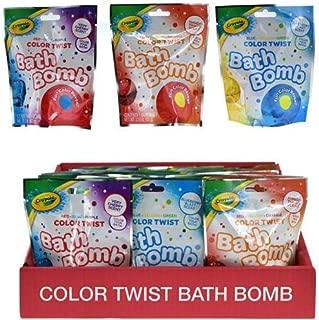 Crayola QQ851HBAZAP24 Bath Bomb in Blind Bag, Multicolor (Pack of 4)