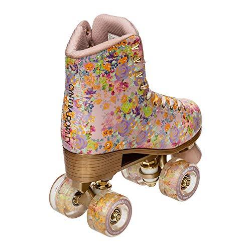 Impala Rollerskates Girl's Impala Quad Skate (Big Kid/Adult) Cynthia Rowley Floral 8 (US Men's 6, Women's 8) M
